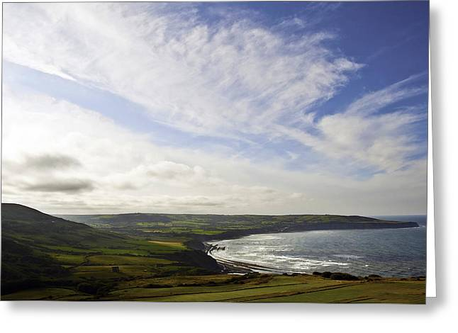 Ravenscar Greeting Card by Svetlana Sewell