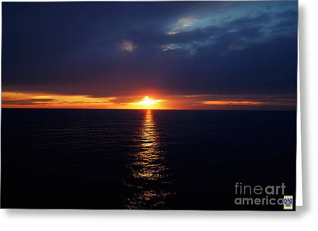 Ray Of Light Greeting Card by Casavecchia Photo Art