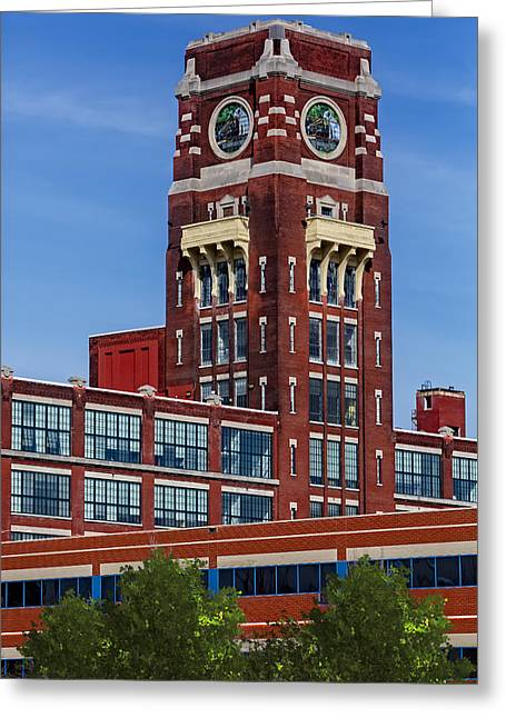 United States Greeting Cards - RCA Records Building Greeting Card by Susan Candelario