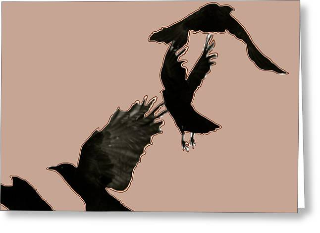 Bird On The Ground Greeting Cards - Reach New Highs Greeting Card by Debra     Vatalaro