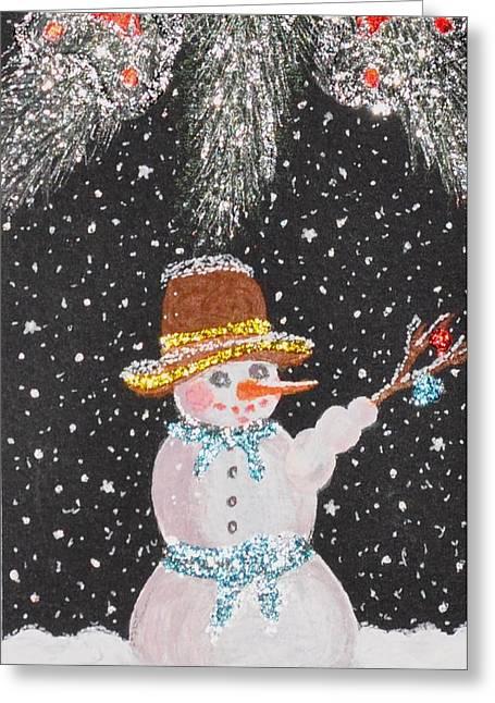 Chrismas Greeting Cards - Ready for fun Greeting Card by Georgeta  Blanaru