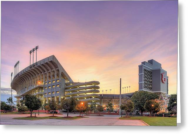 Sec Greeting Cards - Ready for Gameday Greeting Card by JC Findley
