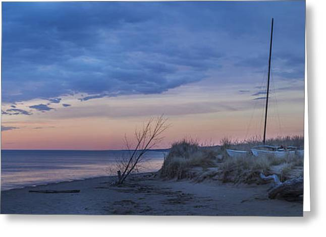 Beach Photos Greeting Cards - Ready for Summer Panorama Greeting Card by Twenty Two North Photography