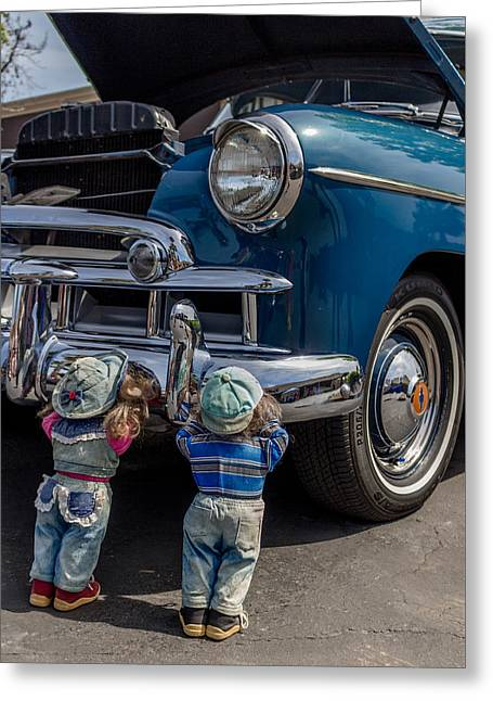 Ready Or Not Here We Come Greeting Card by Marnie Patchett
