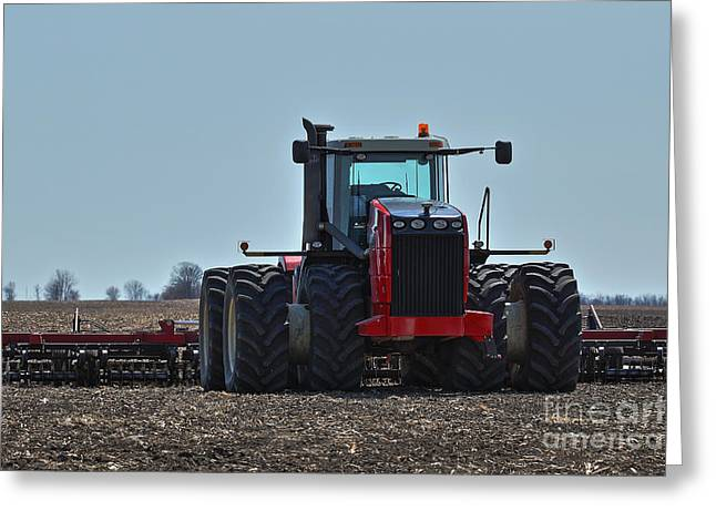 Farmers Field Greeting Cards - Ready Set Grow Greeting Card by Alan Look