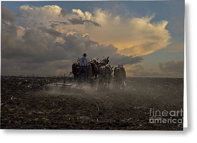 Rural Indiana Greeting Cards - Ready the Earth Greeting Card by David Arment