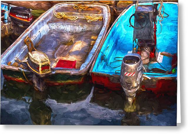 Maine Shore Greeting Cards - Ready To Go Greeting Card by Tricia Marchlik
