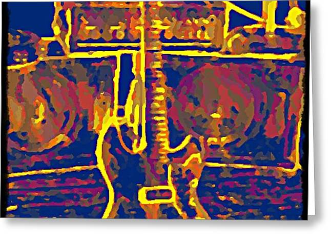 Ready To Rock Greeting Card by Bill Cannon