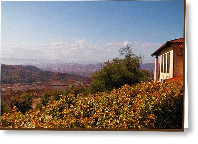 Gipper Greeting Cards - Reagan Library Overlook Greeting Card by Glenn McCarthy Art and Photography