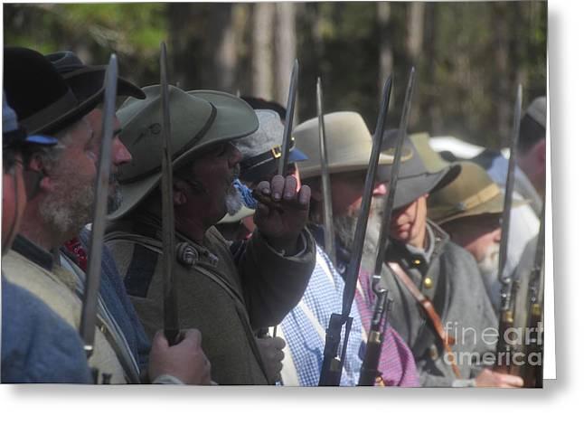 Rebel Bayonets Greeting Card by David Lee Thompson