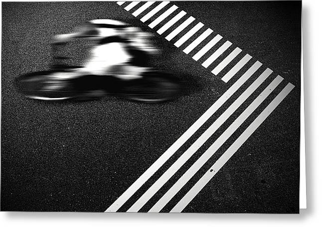 Streets Greeting Cards - Rebel Greeting Card by Michael Koster