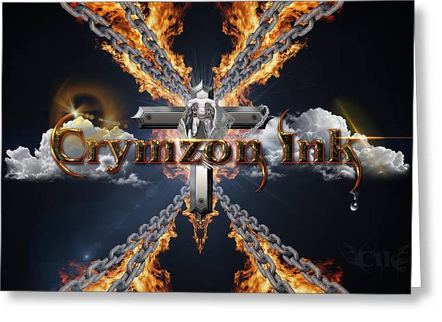 Bible Greeting Cards - Rebirth Greeting Card by Crymzon Ink