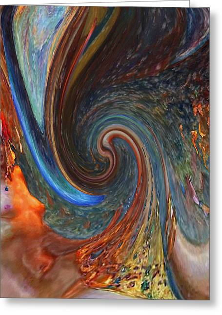 Stefan Kuhn Greeting Cards - Rebirth Greeting Card by Stefan Kuhn