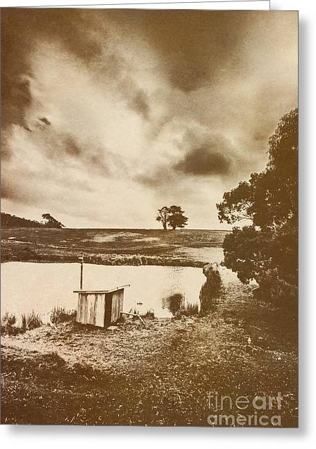 Recollections Of The Watershed Greeting Card by Jorgo Photography - Wall Art Gallery