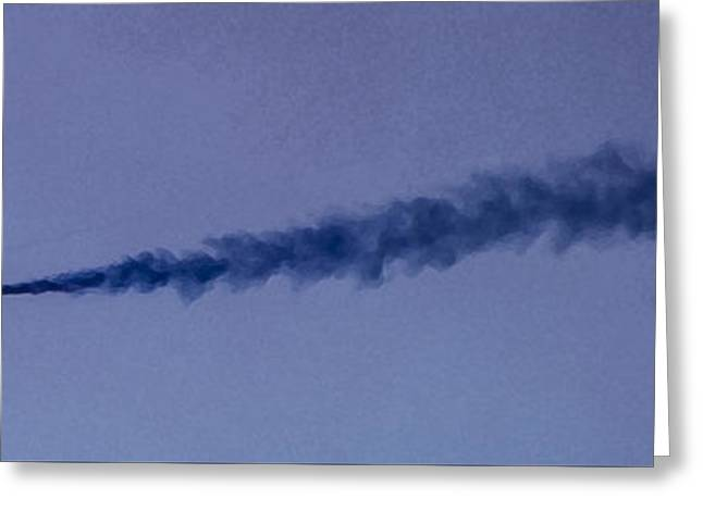 Plane Ceramics Greeting Cards - Red Arrows Art 2 Greeting Card by Roy Crowther
