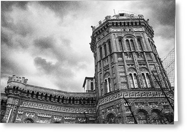 Red Castle Greeting Card by Joseph Westrupp