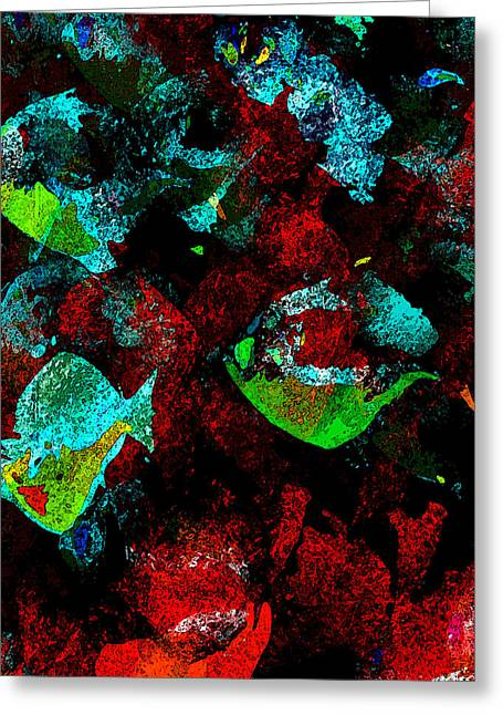 Red Coral Greeting Cards - Red Coral Greeting Card by David Lee Thompson