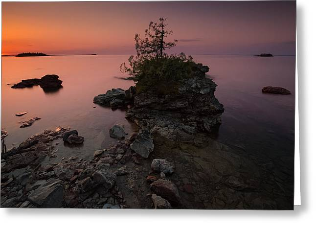 Geology Photographs Greeting Cards - Red Dawn Greeting Card by Jakub Sisak