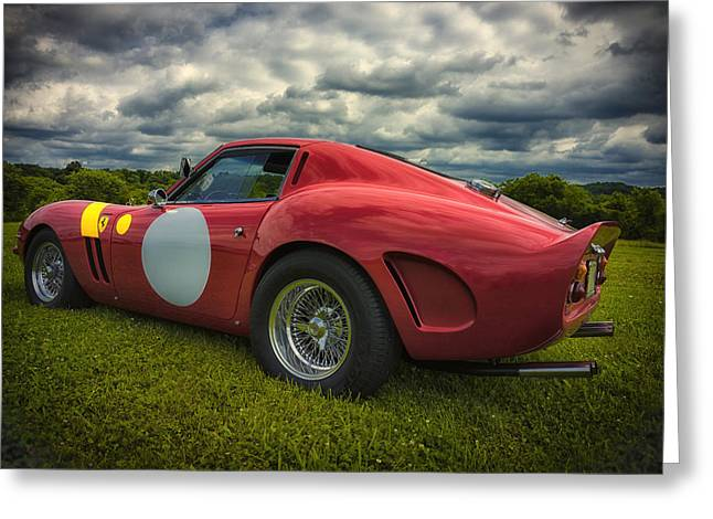 Ferrari 250 Gto Greeting Cards - Red Greeting Card by Larry Helms