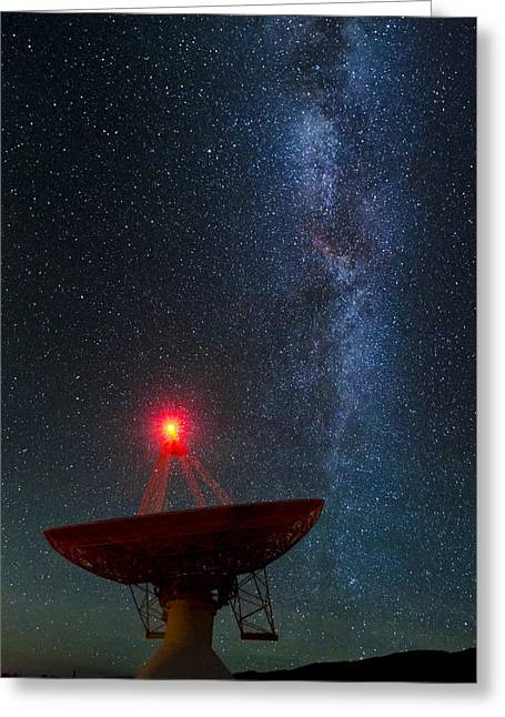 Observatory Greeting Cards - Red Light District Greeting Card by Sean Foster
