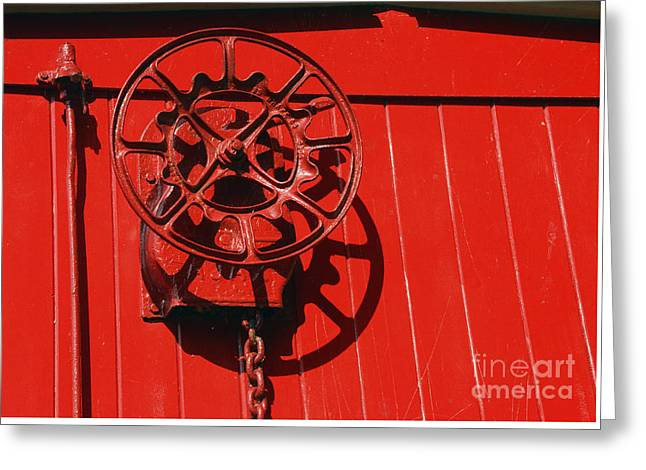 Red On Red Greeting Card by Paul W Faust -  Impressions of Light