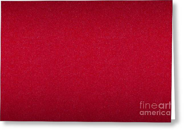 Red Paper Cardboard Texture Greeting Card by Arletta Cwalina