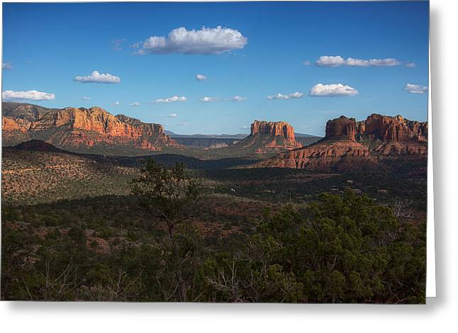 Red Rock Crossing Photographs Greeting Cards - Red Rock Crossing Greeting Card by Laura Macky