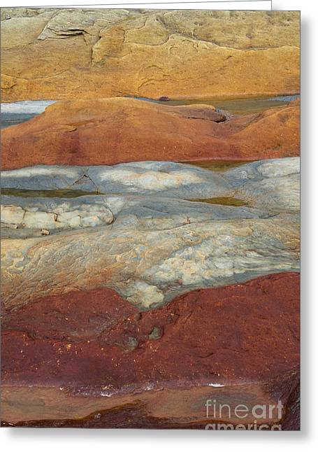 Beach Greeting Cards - Red Rock Greeting Card by Tim Gainey
