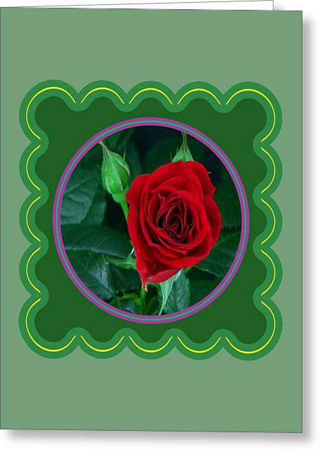 Fineartamerica Greeting Cards - Red Rose Flower Floral posters photography and graphic fusion art NavinJoshi FineArtAmerica Pixels Greeting Card by Navin Joshi