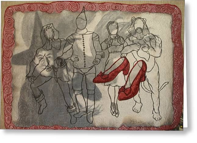 Red Shoes Greeting Card by Diane  DiMaria