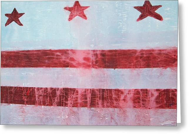 Russell Simmons Greeting Cards - Red White and So Blue Greeting Card by Russell Simmons