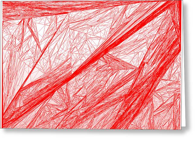 Red.284 Greeting Card by Gareth Lewis