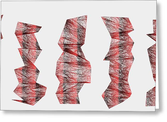 Red.337 Greeting Card by Gareth Lewis