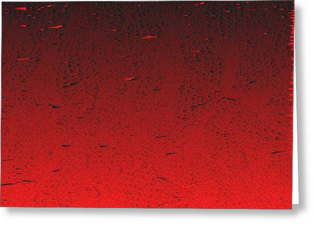 Red.425 Greeting Card by Gareth Lewis