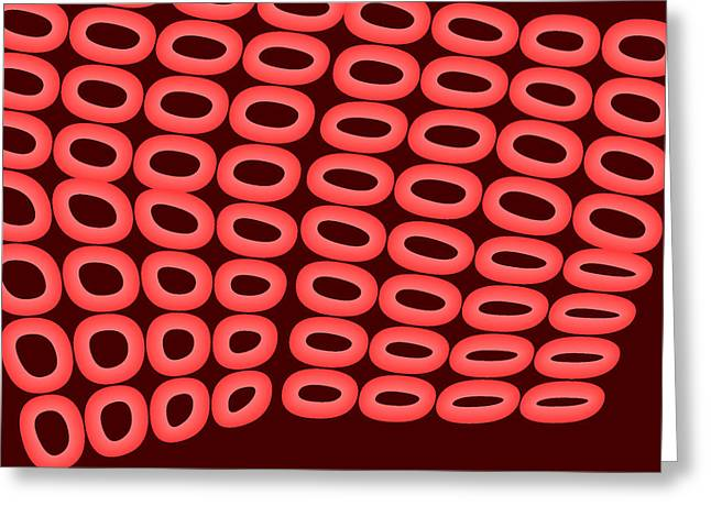 Red.500 Greeting Card by Gareth Lewis