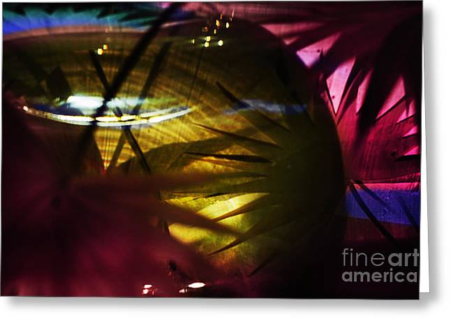 Reflected Abstraction Greeting Card by Elena Lir-Rachkovskaya
