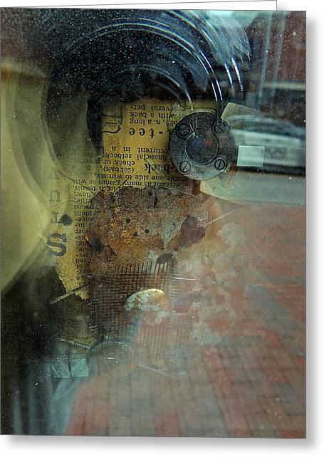 Reflection 1 Greeting Card by Marcia L Jones