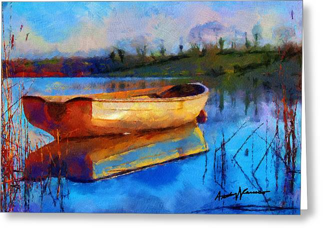 Anthony Caruso Greeting Cards - Reflection Greeting Card by Anthony Caruso