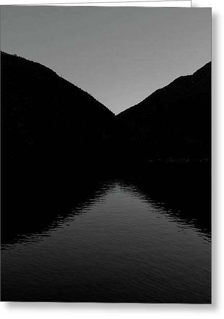 Taos Greeting Cards - Reflection Greeting Card by Atom Crawford