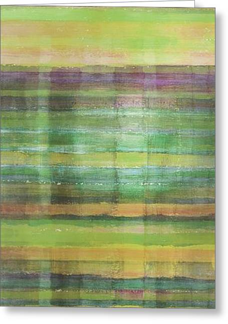 Abstract Expression Greeting Cards - Reflections Greeting Card by Ab Stract
