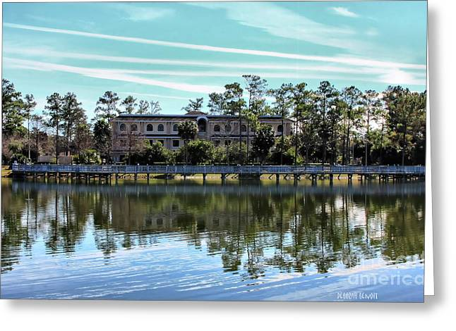 Refelctions Greeting Cards - Reflections At The Lake Greeting Card by Deborah Benoit