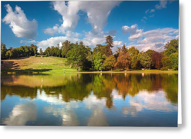 Nature Greeting Cards - Reflections Greeting Card by Colin Evans