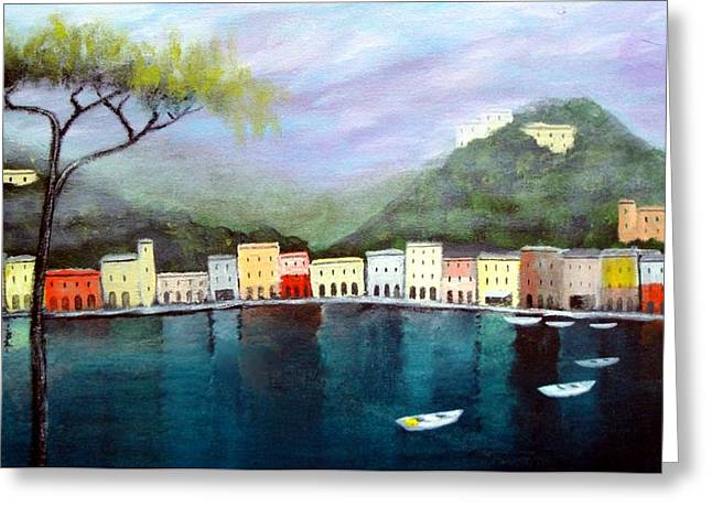Larry Cirigliano Greeting Cards - Reflections  Greeting Card by Larry Cirigliano