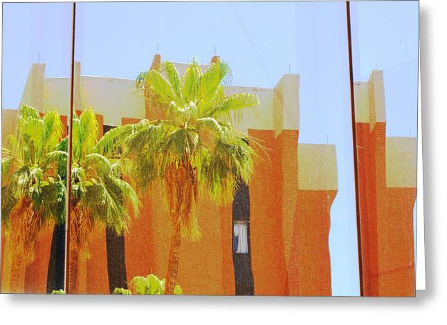 Asu Greeting Cards - Reflections of ASU 15 Greeting Card by Richard Henne