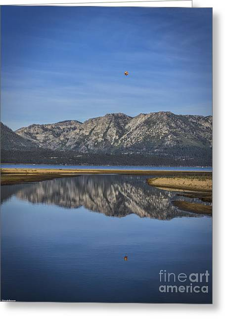 Reflecting Water Greeting Cards - Reflections Of The Morning Greeting Card by Mitch Shindelbower