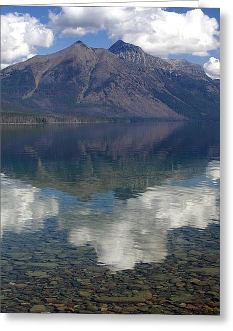 Marty Koch Greeting Cards - Reflections on the Lake Greeting Card by Marty Koch