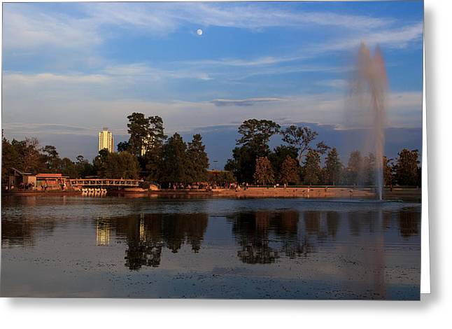 Mcgovern Greeting Cards - Reflections on the Lake Greeting Card by Michelle Olivier