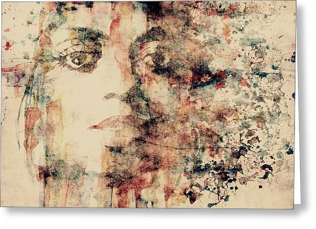 Queen Greeting Cards - Reflections  Greeting Card by Paul Lovering