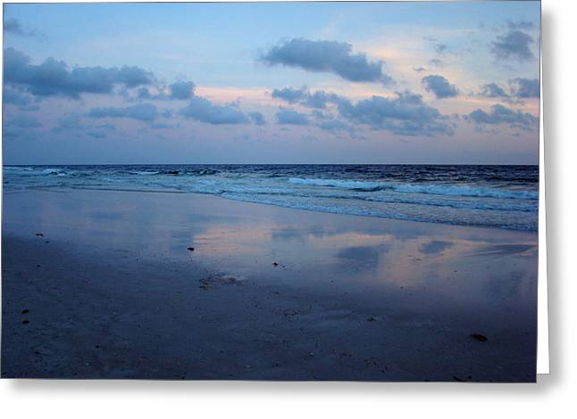 Reflections Greeting Card by Sandy Keeton
