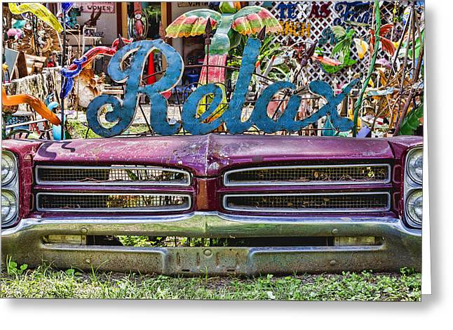 Wimberley Greeting Cards - Relax Greeting Card by Stephen Stookey